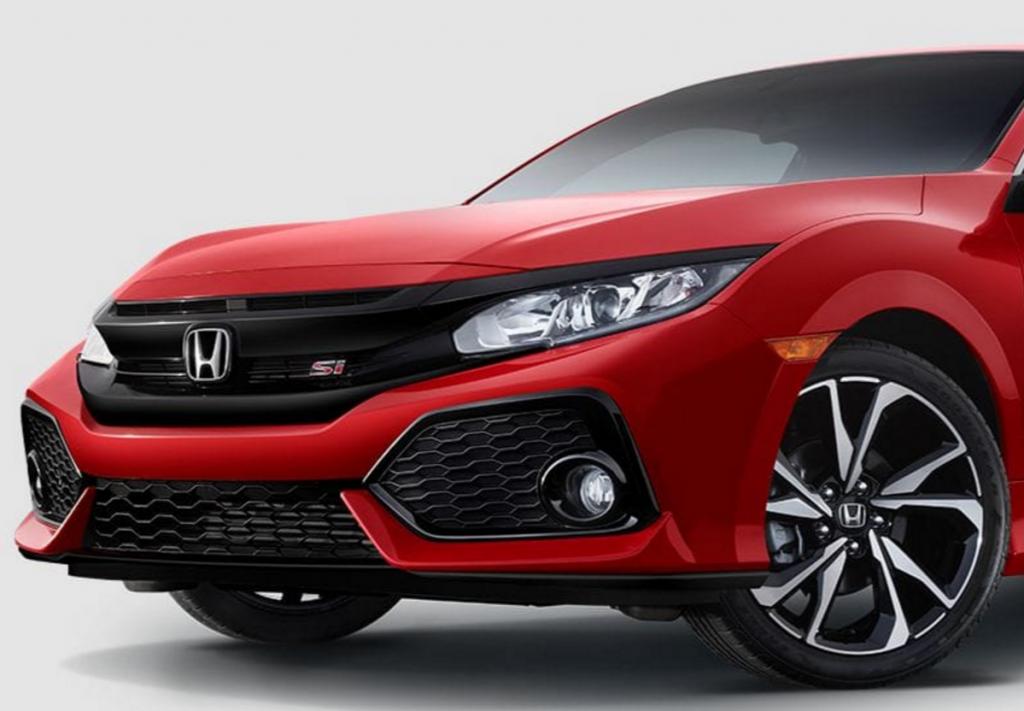 2017 Honda Civic Si Front