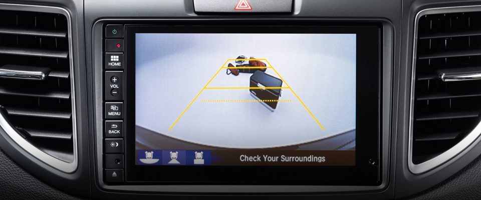 Multi-angle rearview camera Honda Safety Technology