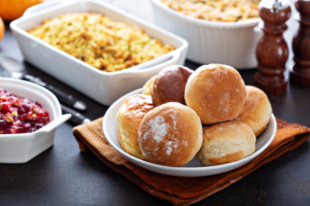 Dinner rolls for Thanksgiving